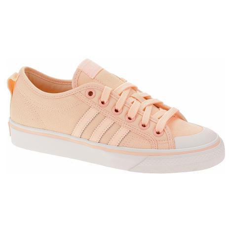 shoes adidas Originals Nizza - Clear Orange/Core Orange/Crystal White - women´s