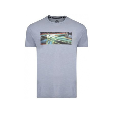 Dare 2b Converge Graphic Print T-Shirt Grey men's T shirt in Grey