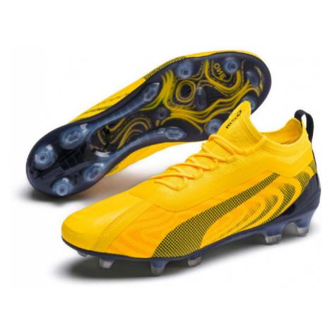 Puma ONE 20.1 FG-AG yellow - Men's football shoes