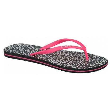 O'Neill FW M & M PRINT pink - Women's flip-flops