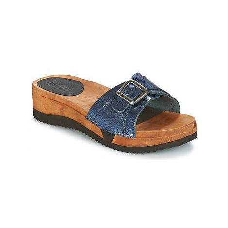 Sanita RANDI women's Mules / Casual Shoes in Blue