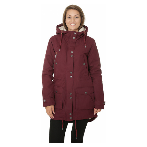 coat Volcom Walk On By - Burgundy - women´s
