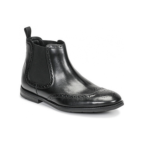 Clarks RONNIE TOP men's Mid Boots in Black