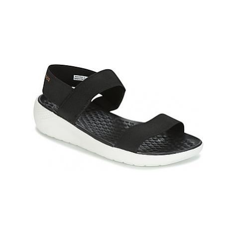 Crocs LITERIDE SANDAL W women's Sandals in Black