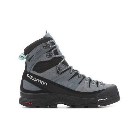 Salomon X Alp High LTR GTX W 401652 women's Walking Boots in Green
