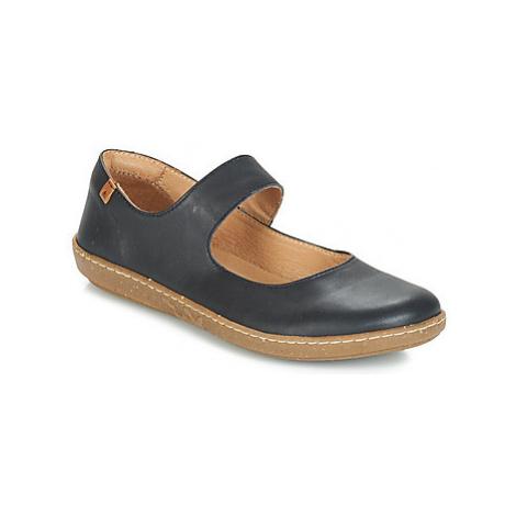 El Naturalista CORAL women's Shoes (Pumps / Ballerinas) in Black