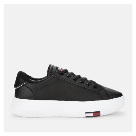 Tommy Jeans Women's Fashion Cupsole Trainers - Black - UK Tommy Hilfiger