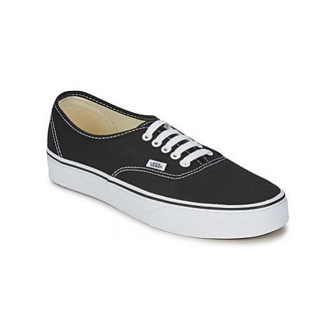 Vans AUTHENTIC women's Shoes (Trainers) in Black