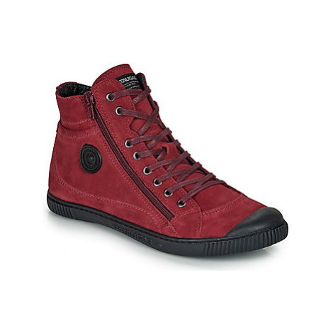 Pataugas BONO women's Shoes (High-top Trainers) in Bordeaux