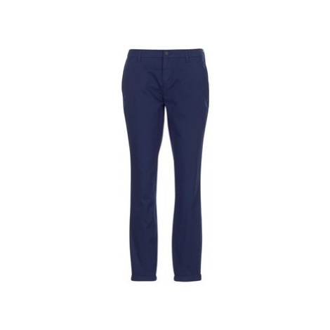 Only PARIS women's Trousers in Blue