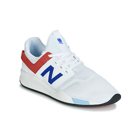 New Balance MS247 women's Shoes (Trainers) in White