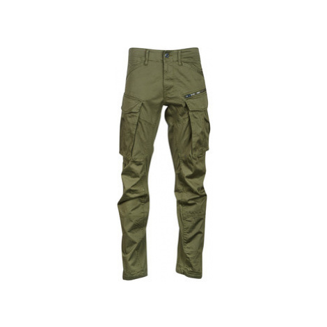 G-Star Raw ROVIC ZIP 3D STRAIGHT TAPERED men's Trousers in Green