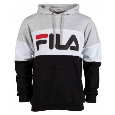 Fila NIGHT Blocked Hoody black - Men's hoodie