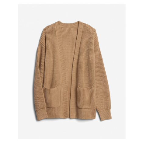 GAP Kida Cardigan Brown