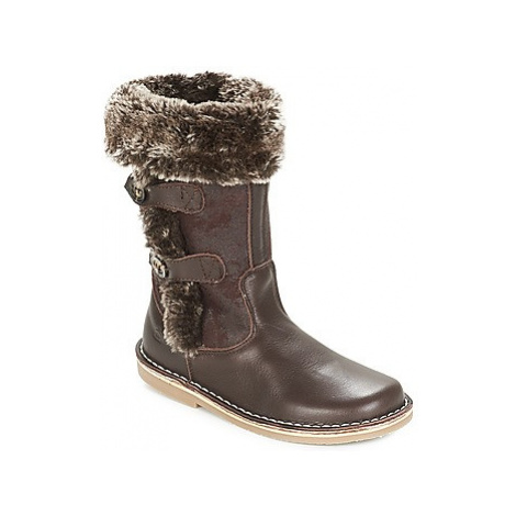 Citrouille et Compagnie JOSY girls's Children's High Boots in Brown