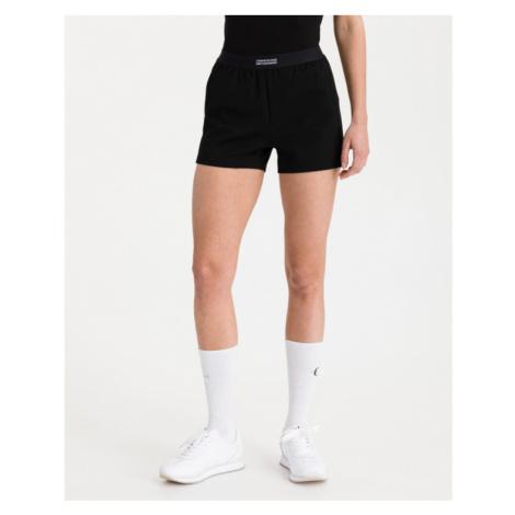 Calvin Klein Milano Drapey Shorts Black