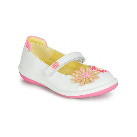 Agatha Ruiz de la Prada BUTTERFLY girls's Children's Shoes (Pumps / Ballerinas) in White