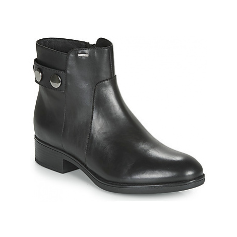 Geox D FELICITY NP ABX women's Mid Boots in Black