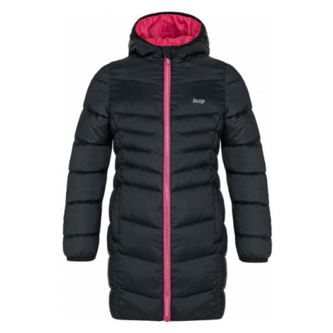 Loap IDUZIE black - Girls' winter coat