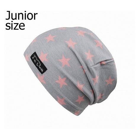 cap IceDress Stars VII - Light Gray/Pink - unisex junior