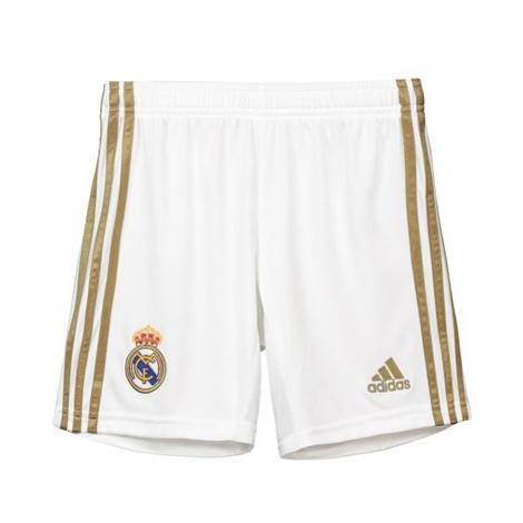 Real Madrid Home Shorts 2019 - 20 - Kids Adidas