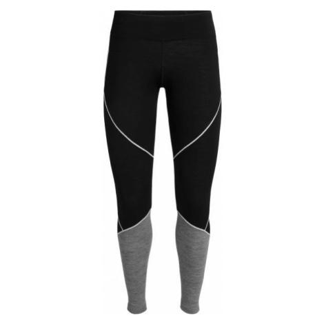 Icebreaker OASIS DELUXE LEGGINGS black - Merino leggings Icebreaker Merino