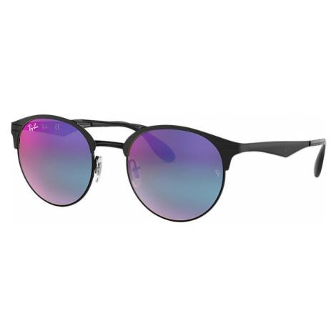Ray-Ban Rb3545 Unisex Sunglasses Lenses: Blue, Frame: Black - RB3545 186/B1 51-20