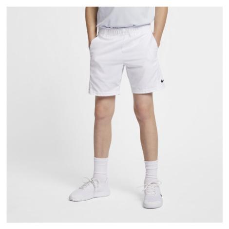 NikeCourt Dri-FIT Older Kids' (Boys') Tennis Shorts - White