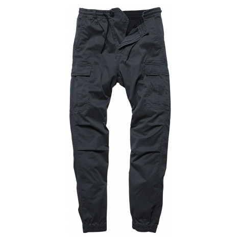 Vintage Industries Vince Cargo Jogger Cargo Trousers navy