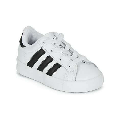 Adidas COAST STAR EL I girls's Children's Shoes (Trainers) in White