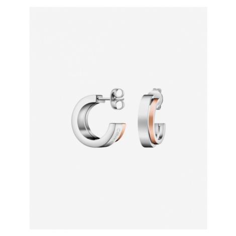 Calvin Klein Loud Earrings Silver