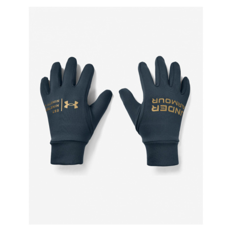 Under Armour Graphic Liner Gloves Blue