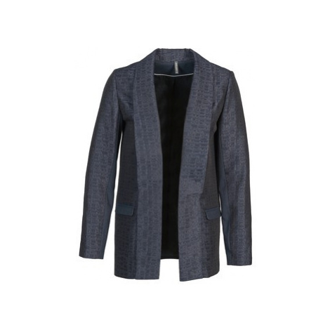 Naf Naf ELYO women's Jacket in Blue