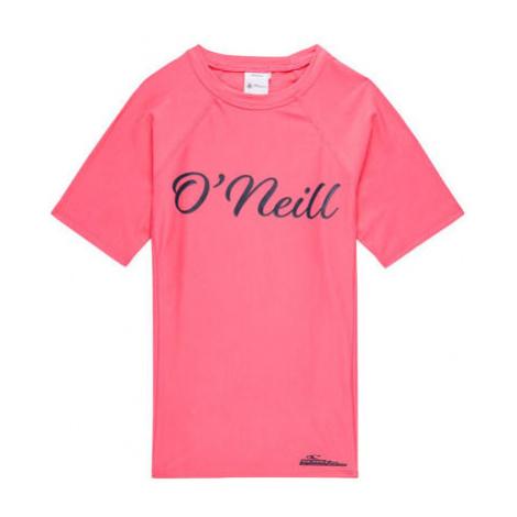 O'Neill PG LOGO S/SLV SKINS pink - Girl's T-shirt