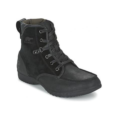 Sorel ANKENY MOC TOE men's Mid Boots in Black