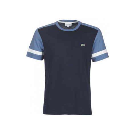 Lacoste TH8617 men's T shirt in Blue
