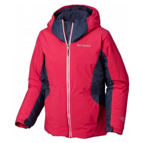 Columbia WILD CHILD JACKET pink - Kids' water resistant jacket
