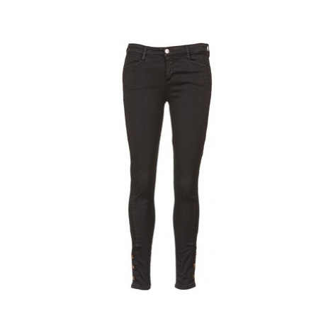 Acquaverde ALFIE women's Skinny Jeans in Black