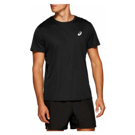 Asics SILVER SS TOP black - Men's running T-shirt