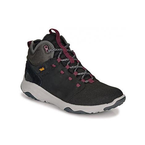 Teva ARROWOOD VENTURE MID WP women's Walking Boots in Black