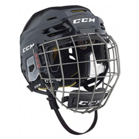 CCM TACKS 310C SR COMBO black - Hockey helmet