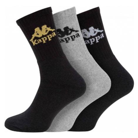 Kappa AUTHENTIC AILEL 3P grey - Socks