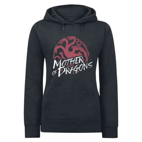 Game of Thrones - Mother Of Dragons - Girls hooded sweatshirt - black