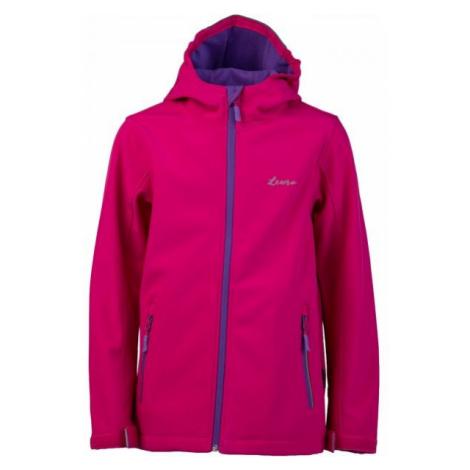Lewro OWEN pink - Kids' softshell jacket