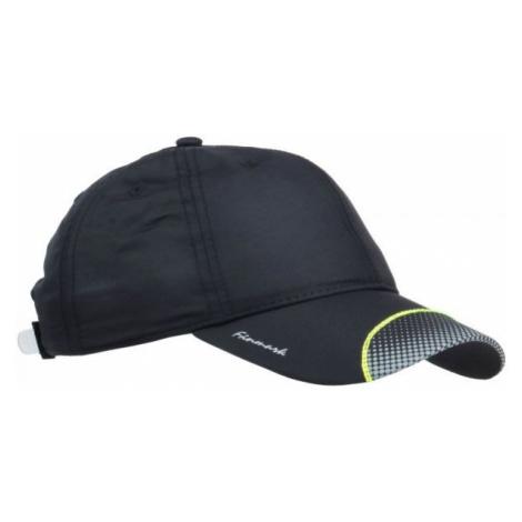 Finmark CHILDREN'S SUMMER BASEBALL CAP black - Children's summer baseball cap