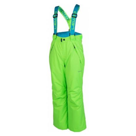 Lewro NYX green - Kids' snowboard pants