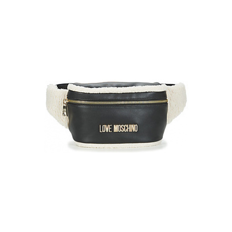 Love Moschino JC4301 women's Hip bag in Black