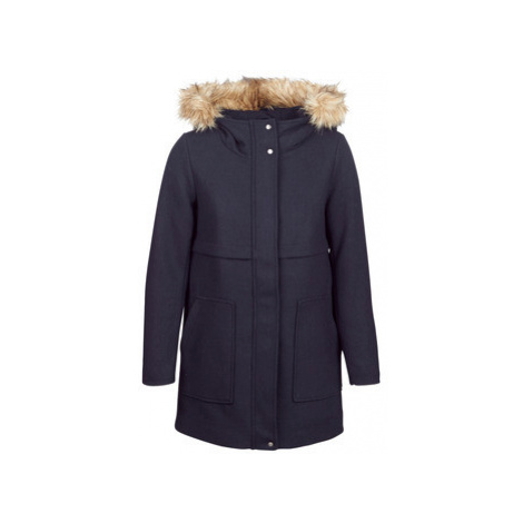 Only ONLNOAH women's Coat in Blue