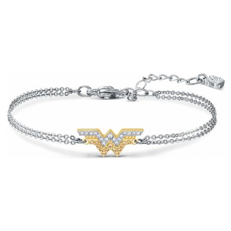 Fit Wonder Woman Bracelet, Gold tone, Mixed metal finish Swarovski