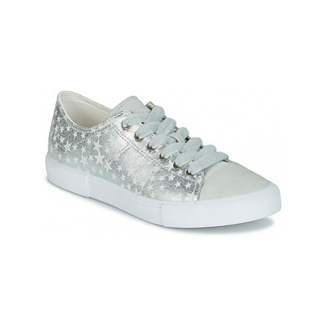Esprit SONETTA LACE UP women's Shoes (Trainers) in Silver